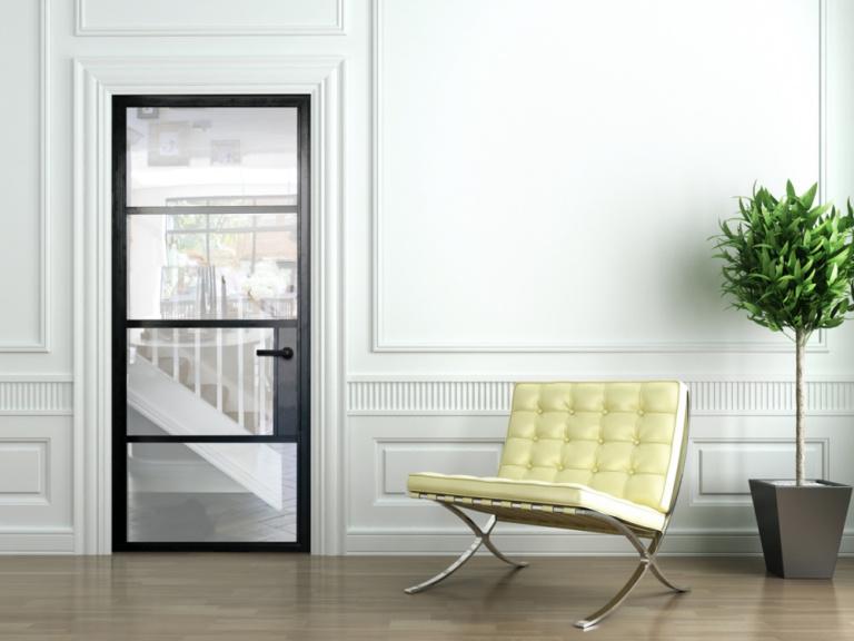 Steel Look Windows Doors in Warwickshire Birmingham West Midlands 1